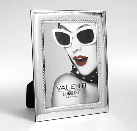 Ramka na zdjęcia posrebrzana - Valenti