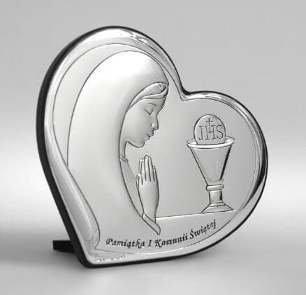 Pamiątka I Komunii Świętej dla dziewczynki