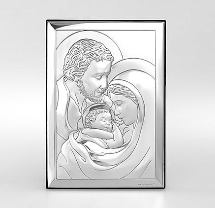 Święta Rodzina - Obraz srebrny Beltrami