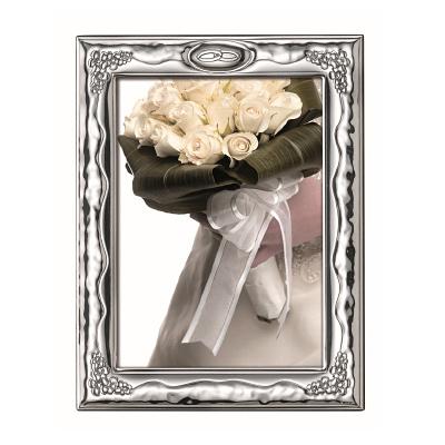Srebrna ramka na zdjęcie Pamiątka Ślubu i Rocznicy