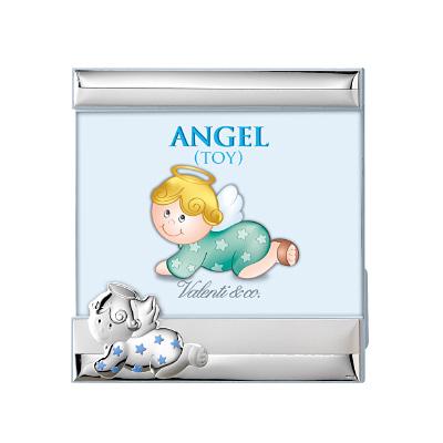 Srebrna ramka na zdjęcie Pamiątka dla chłopca
