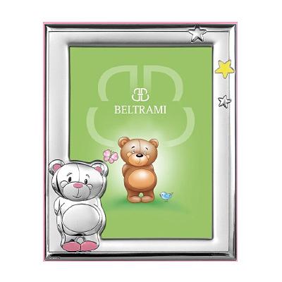 Srebrna ramka na zdjęcie Pamiątka dla dziewczynki