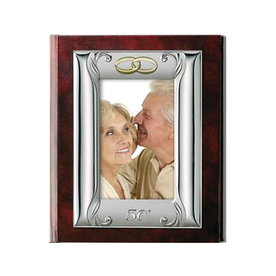 Album na zdjęcia wklejane ze srebrnym ornamentem