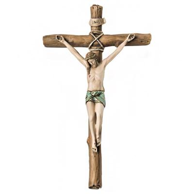Krzyż klasyczny malowany