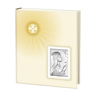 Album na zdjęcia dla dziewczynki pamiątka I Komunii Świętej