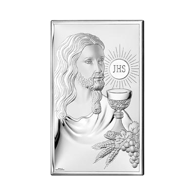 Jezus Chrystus nad Hostią obrazek święty