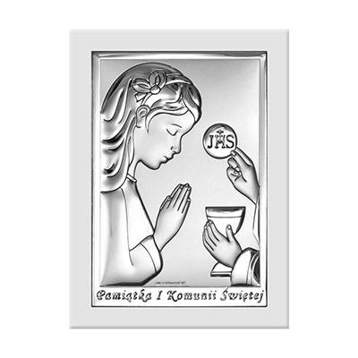 Obrazek na Komunię dla chłopca Pamiątka komunijna
