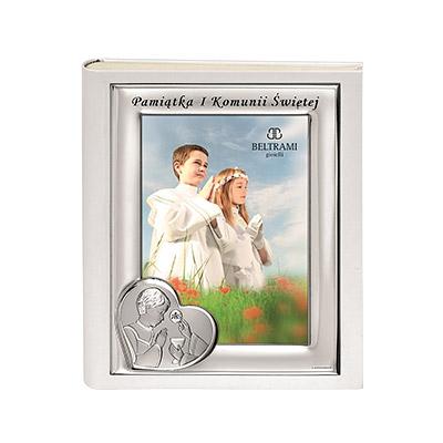 Album komunijny dla chłopca pamiątka I Komunii Świętej