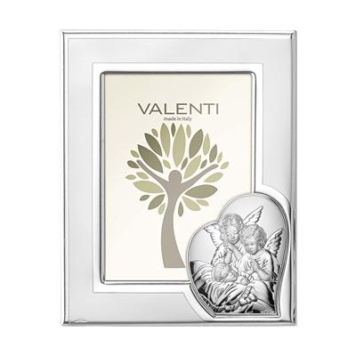 Srebrna ramka Valenti Pamiątka Chrztu Świętego