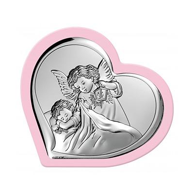 Aniołek nad dzieckiem Obrazek dla dziewczynki