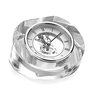 Zegar W szklanej obudowie