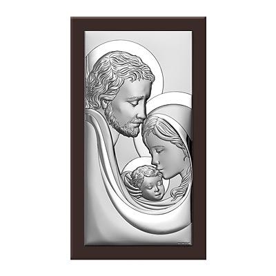 Święta Rodzina obraz srebrny na Ślub
