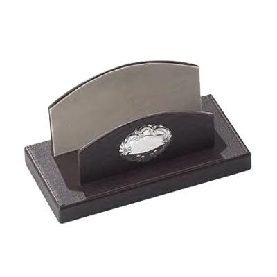 Stojak na listy ze srebrnym emblematem